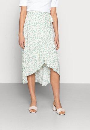 SKIRT WENDY - A-line skirt - dusty green