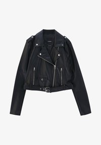 PULL&BEAR - Faux leather jacket - black - 6