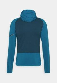 Dynafit - TRANSALPER LIGHT HOODY - Fleece jacket - mykonos blue - 1