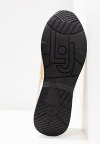 Liu Jo Jeans - KARLIE - Sneakers - metallic light gold - 6