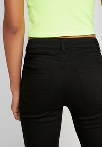 New Look - SUPER - Jeans Skinny Fit - black - 3