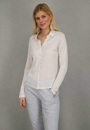SOHO  - Button-down blouse - milky
