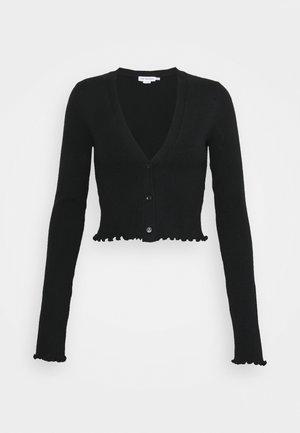LETTUCE EDGE - Cardigan - black