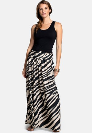 Maxi skirt - animal stripe