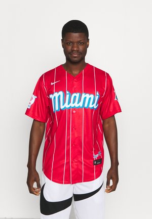 MLB CITY CONNECT MIAMI MARLINS OFFICIAL REPLICA - Article de supporter - red