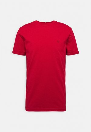 NØRREGAARD - Basic T-shirt - red orange