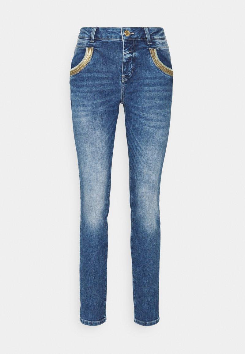 Mos Mosh - WAVE  - Jeans straight leg - blue