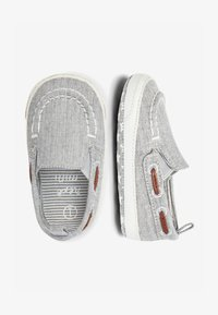 Next - GREY PRAM SLIP-ON BOAT SHOES (0-24MTHS) - Boat shoes - grey - 1