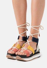 Gioseppo - Platform sandals - multicolor - 0