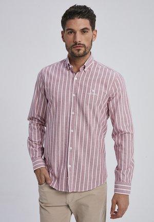 MARVIC - Shirt - bordeaux