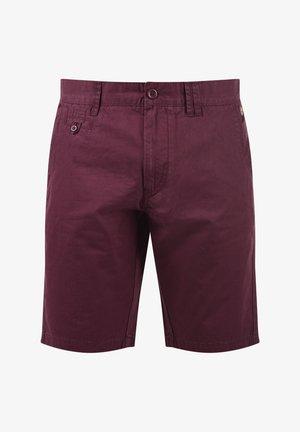 SASUKE - Shorts - wine red