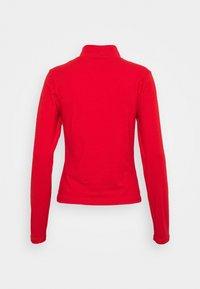 Nike Sportswear - MOCK TOP - Camiseta de manga larga - chile red/white - 1