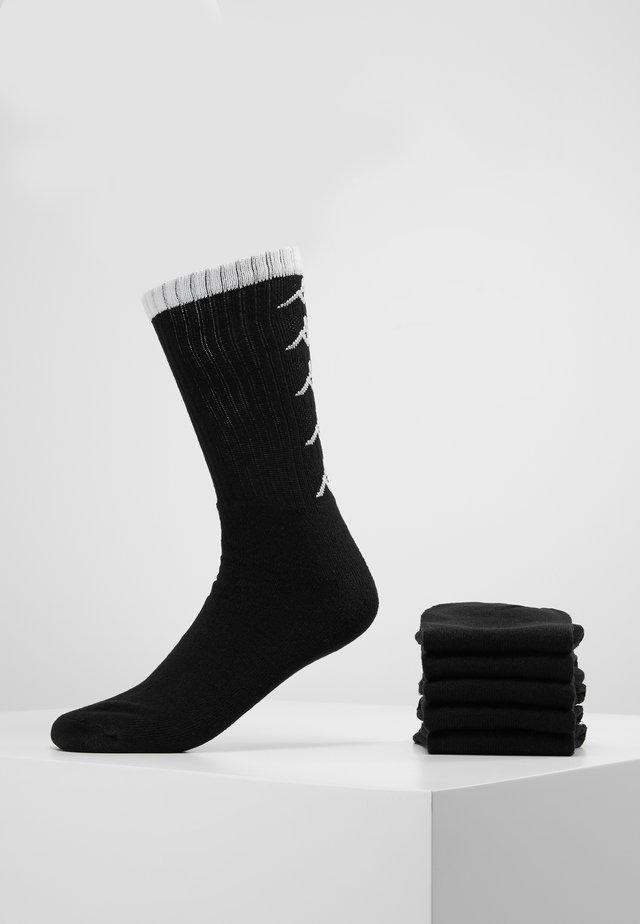 EVERT 6 PACK - Calze sportive - black