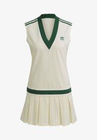 adidas Originals - TENNIS LUXE DRESS ORIGINALS - Blousejurk - off white - 6