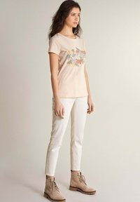 Salsa - SAMARA REGULAR - Print T-shirt - weiß - 1