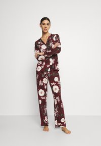 s.Oliver - SET - Pyjamas - bordeaux - 1