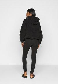 New Look Petite - SHORT BORG - Light jacket - black - 2