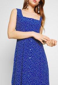 Rolla's - CLAIRE MINI TULIPS DRESS - Day dress - marine blue - 5