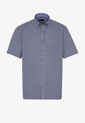COMFORT FIT - Shirt - marine/weiß