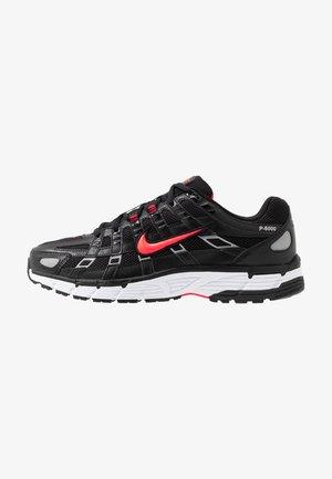 P-6000 - Sneakers - black/bright crimson/white/metallic silver