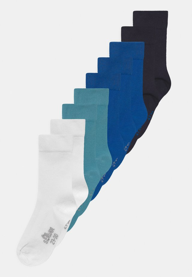 ONLINE JUNIOR ESSENTIAL 9 PACK - Socks - olympian blue