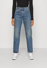 Levi's® Made & Crafted - THE COLUMN - Jeansy Straight Leg - coastal blue - 0