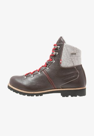GEBIRGSJÄGER - Winter boots - dark brown