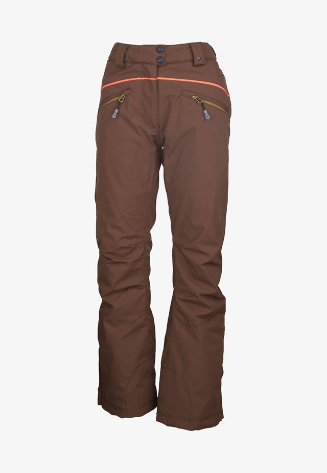 REASE-R - Snow pants - dark brown
