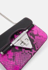 Just Cavalli - Across body bag - beetroot purple/black - 4