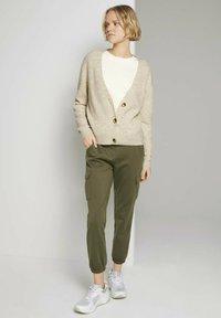 TOM TAILOR DENIM - Sweatshirt - soft creme beige - 1
