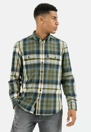 Shirt - olive brown