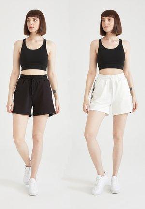 2 Pack - Short de sport - black