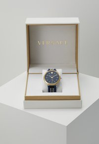 Versace Watches - CIRCLE GRECA EDITION - Hodinky - blue - 4