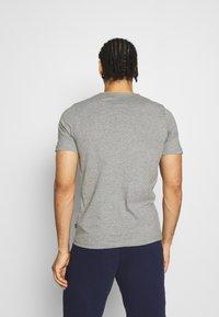 Puma - EMBROIDERY LOGO TEE - T-shirts basic - medium gray heather - 2