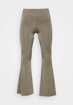SLINKY FLARE - Leggings - khaki