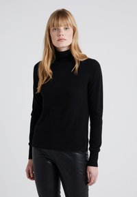 J.CREW - LAYLA TURTLENECK - Sweter - black - 0