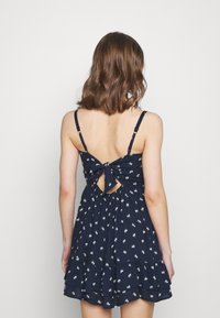 Hollister Co. - BARE SHORT DRESS - Kjole - navy - 2