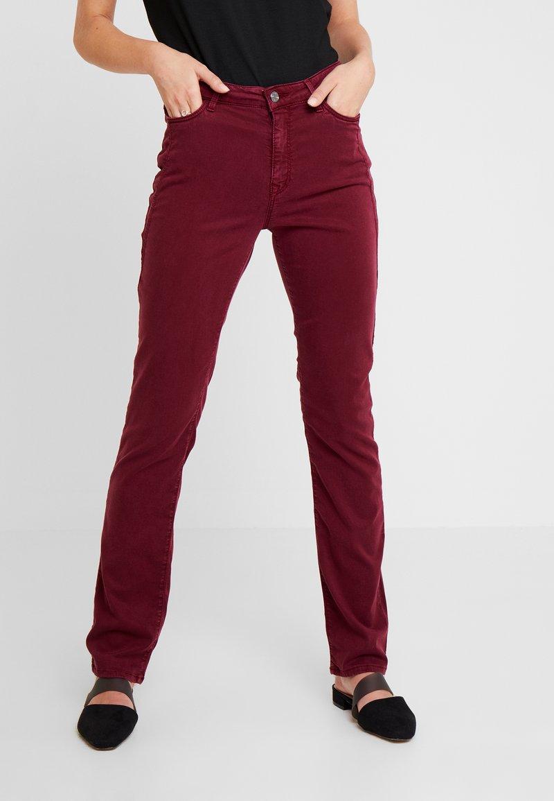 Esprit - FLAP - Broek - bordeaux red
