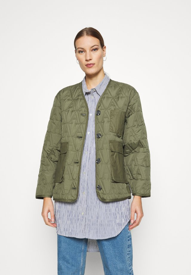 DREW JACKET - Light jacket - winter moss