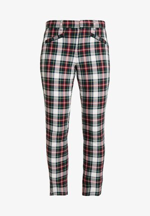 ANKLE ZIPPER HOLIDAY - Bukse - tartan