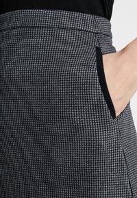 GANT - DOGTOOTH SKIRT - A-line skirt - dark grey melange - 4