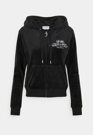 ANNIVERSARY CREST  HOODIE - Sweat à capuche zippé - black