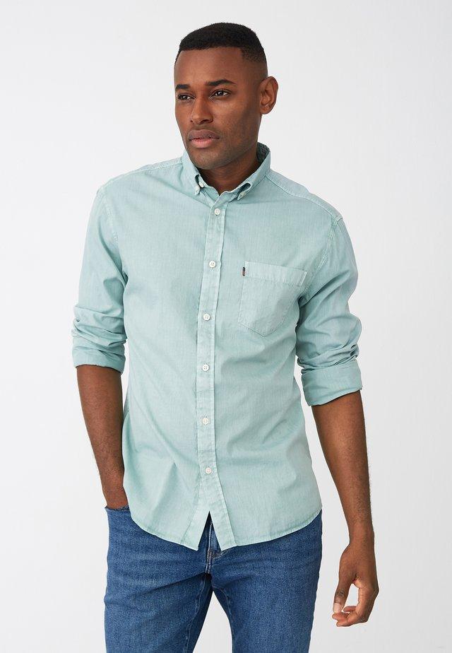Shirt - turquoise