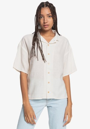 SURF CAMP - Button-down blouse - vanilla ice