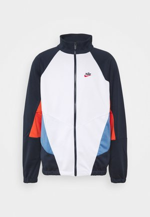 Summer jacket - obsidian/photon dust/mantra orange
