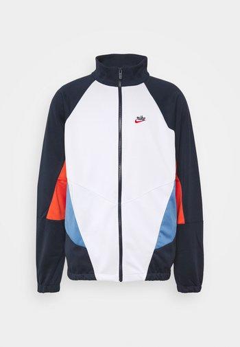 Summer jacket - obsidian/photon dust/mantra orange