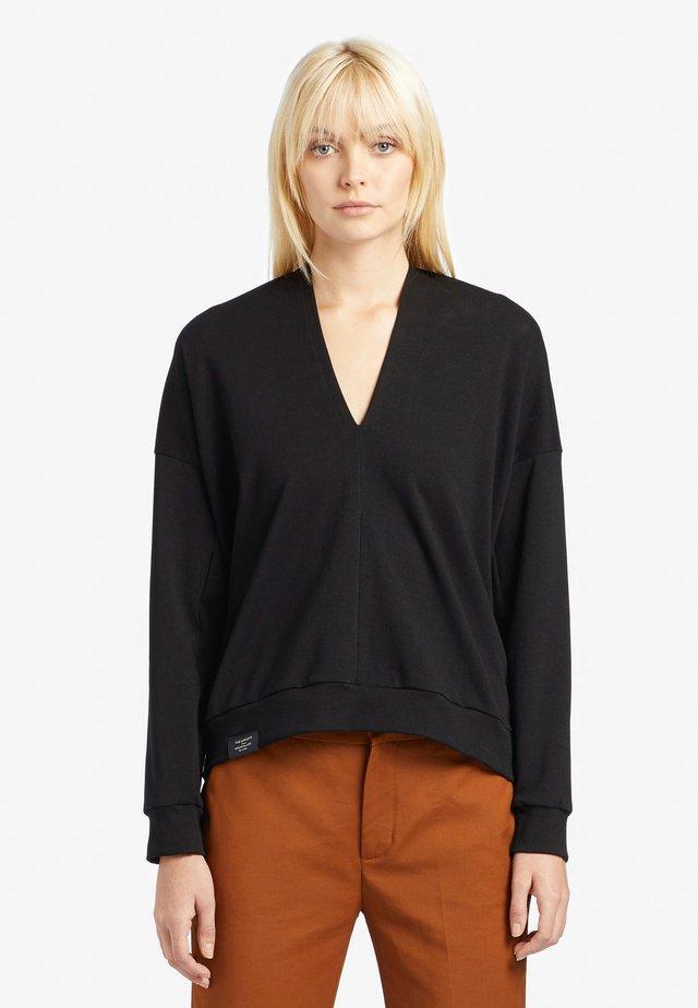 AZIZE - T-shirt à manches longues - black