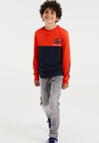 WE Fashion - Relaxed fit jeans - grey - 1