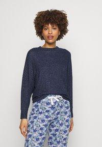 Marks & Spencer London - Pyjama top - navy - 0