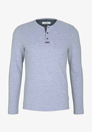 Long sleeved top - light stone grey melange